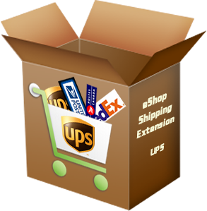 Wordpress eShop UPS Shipping Rates Plugin